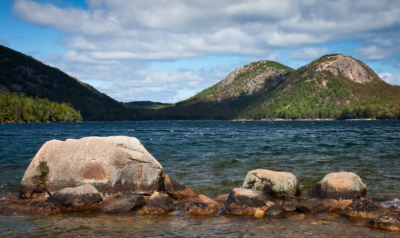Jordan Pond and the Bubbles<br /> Acadia, NP