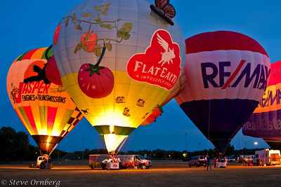 Balloon glow, Eyes to the Sky, Lisle