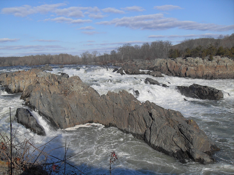 Great Falls,VA in winter 2011.