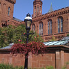 Smithsonian castle flag at half mast for Teddy Kennedy.