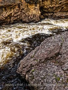 Kiutaköngäs, Oulankajoki - River Oulanka  HDR
