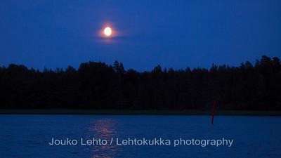 Sininen yö - Blue night.Tammisaaren saariston kansallispuisto - Tammisaari Archipelago National Park