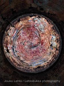Time Machine. Hossan Värikallio, kivikautisia maalauksia - Värikallio at Hossa, stone age paintings; abstract versions