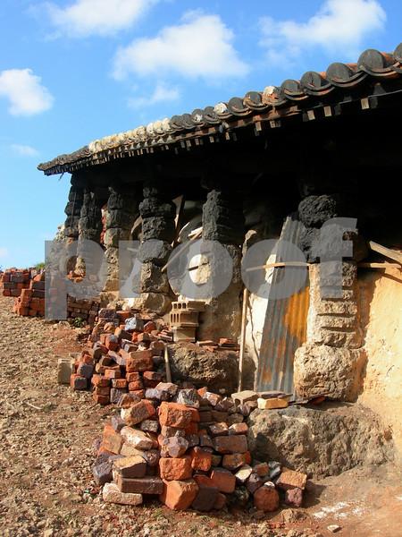 Pottery kiln: Okinawa, Japan.