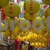 Lanterns in China Town Nagasaki, Japan.