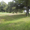 """Earthworks at <a href=""""http://www.pc.gc.ca/lhn-nhs/on/southwold/index_E.asp"""">Southwold Earthworks National Historic Site</a>."""