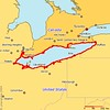 "I drove around Lake Erie from September 2nd through the 10th, 2005.  <p> <b>Usability:</b> The ""style"" options in the upper right give you a variety of ways of viewing these photos.  I recommend the ""journal"" option which allows you to see several photos and my comments on them on one page.  From a journal page, you can click on an individual photo to view a larger version of the photo, and also leave comments on it. <p> <b>Copyright:</b> All <u>photographs</u> in this gallery are Copyright © 2005 Charles E. Carroll, with all rights reserved unless otherwise indicated on individual photos.  All <u>maps</u> (such as this one) belong to <a href=""http://www.planiglobe.com/"">planiglobe</a> and are used in accordance with their license."