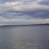 "Looking towards Erie, PA, from <a href=""http://www.presqueisle.org/"">Presque Isle State Park</a>."