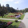Queen Elizabeth II Sunken Gardens at Jackson Park in Windsor.