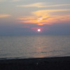 Sunset at Point Pelee.