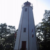 Lighthouse in Port Burwell.  It has been moved a bit inland from its original spot.