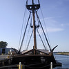 "Replica of the U.S. Brig Niagara at the <a href=""http://www.brigniagara.org/museum.htm"">Erie Maritime Museum</a> in Erie, PA.  Some of the wood from the original U.S. Brig Niagara, pivotal in the Battle of Lake Erie, was used to build this replica."