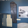 Fragment of a sounding board recovered from the S. S. Edmund Fitzgerald, sunk on Lake Superior on November 10, 1975.