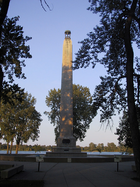 Perry Monument at Presque Isle State Park.