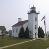 Sand Point Lighthouse in Ludington Park