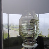 "The <a href=""http://en.wikipedia.org/wiki/Fresnel_lens"">Fresnel lens</a> in the lighthouse."