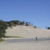 A dune at Warren Dunes State Park.