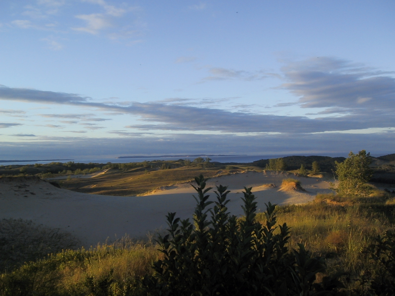 "Some of the dunes at <a href=""http://www.nps.gov/slbe/"">Sleeping Bear Dunes National Lakeshore</a>."