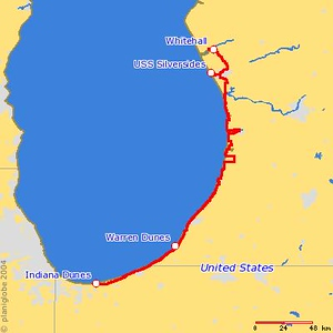 <h2>Wednesday, September 8<br> Whitehall, MI - Indiana Dunes National Lakeshore</h2>