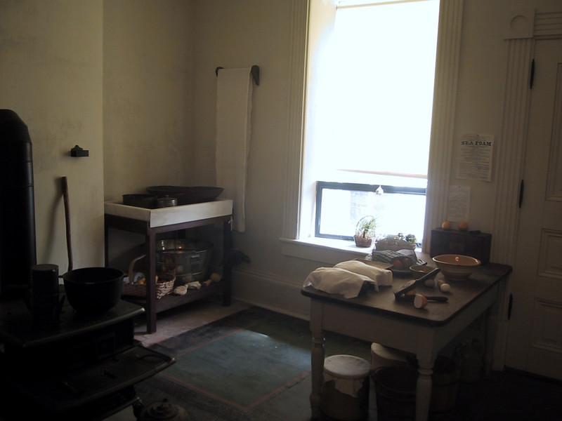 Kitchen at Fort Ontario
