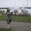 Firing demonstration at Fort Niagara.