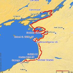 Wednesday, September 6, 2006  Oswego, NY — Ganonoque, ON