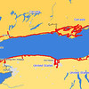 "I drove around Lake Ontario September 3-16, 2006. <p> <b>Usability:</b> The ""style"" options in the upper right give you a variety of ways of viewing these photos.  I recommend the ""journal"" option which allows you to see several photos and my comments on them on one page.  From a journal page, you can click on an individual photo to view a larger version of the photo, and also leave comments on it. <p> <b>Copyright:</b> All <u>photographs</u> in this gallery are Copyright © 2006 Charles E. Carroll, with all rights reserved unless otherwise indicated on individual photos.  All <u>maps</u> (such as this one) are Copyright © 2008 <a href=""http://www.planiglobe.com/"">planiglobe</a> and are used in accordance with their license."