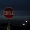 "Blurry photo of a stop sign in <a href=""http://en.wikipedia.org/wiki/Tyendinaga_Mohawk_Territory,_Ontario"">Tyendinaga Mohawk Territory</a>"