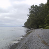 View along the shore from Presqu'ile Provincial Park
