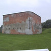 """Main building at <a href=""""http://en.wikipedia.org/wiki/Fort_Mississauga"""">Fort Mississauga</a>, a much smaller fort, though from the same era, as Fort George, also in Niagara-on-the-Lake, ON.  Just earthworks and a few stone structures here."""