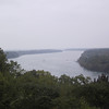 Overlooking the Niagara River from a bluff near Queenston Heights, ON.