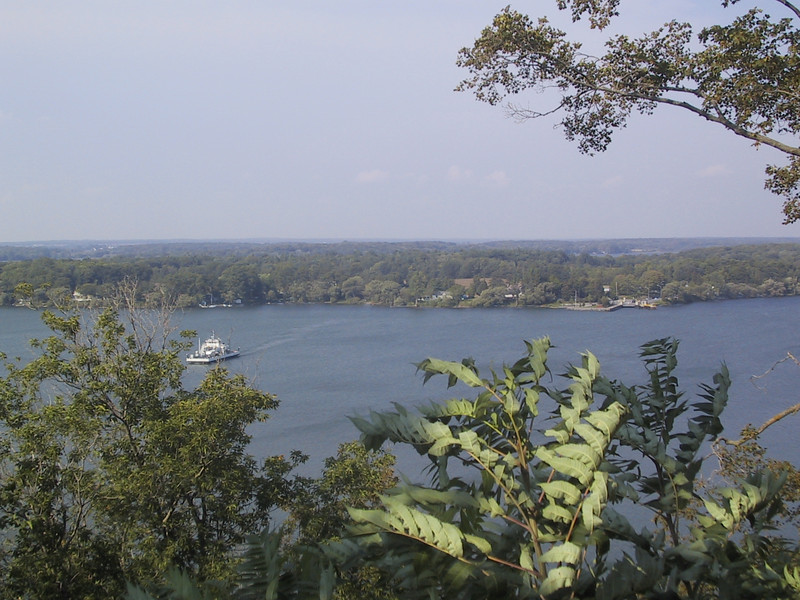 "From <a href=""http://prince-edward-county.com/?page_id=1328"">Lake on the Mountain Provincial Park</a>, one can cross a road to look over a bluff at Lake Ontario about 200 feet below..."