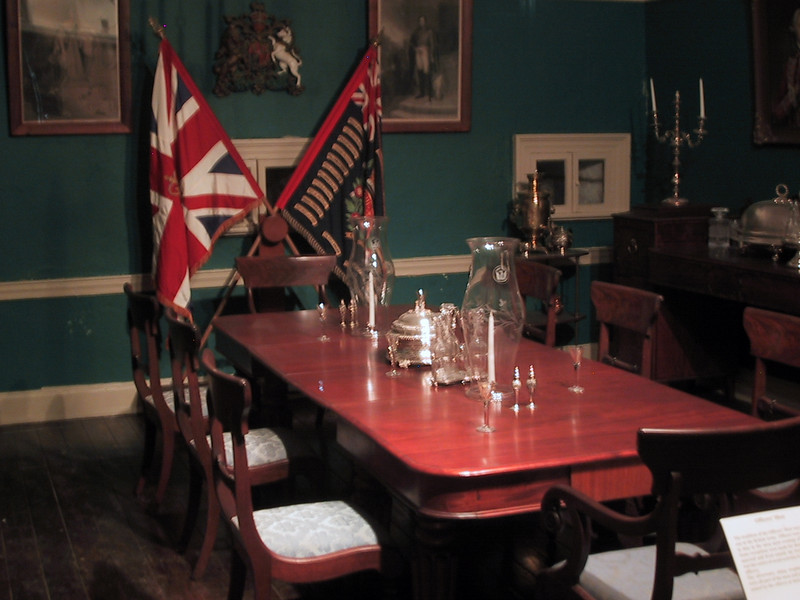 Officers' mess