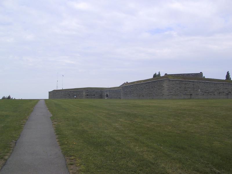 Walls of Fort Ontario