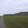 Walls of Fort Ontario