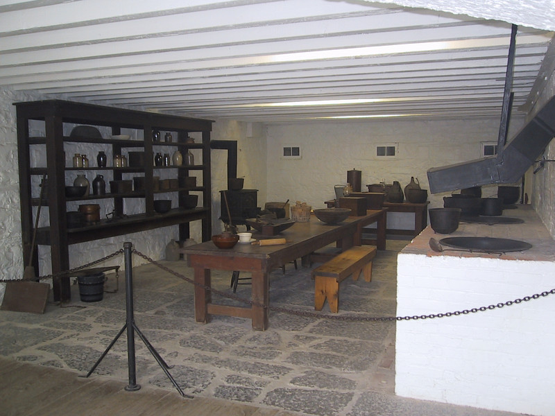 Cookhouse for enlisted soldiers