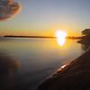 Sunset at Darlington Provincial Park