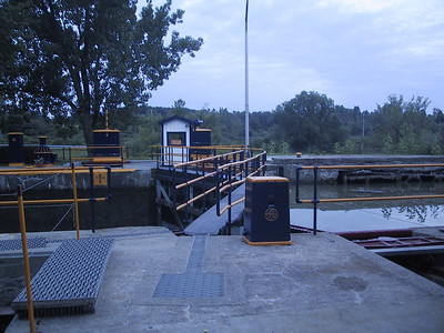 Erie Canal Lock #32, in Pittsford near Rochester