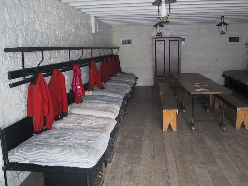 Barracks for single enlisted men
