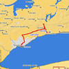 """<h2>Sunday, September 10, 2006 <br> Whitby, ON, — Toronto, ON </h2> I spent the afternoon of the 10th and pretty much all of the 11th-13th at the <a href=""""http://www.tiff.net/"""">Toronto International Film Festival</a>, so no pictures from that period. I saw 21 movies in 3½ days, including <i>Stranger than Fiction</i> and <i>Pan's Labyrinth</i> before their wide releases."""