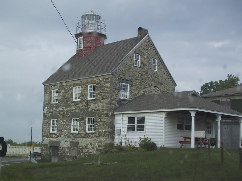 Selkirk Lighthouse in Pulaski, NY.  The lighthouse was not open to the public, but was up for sale (along with the marina) at the time.