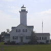 Stony Point Lighthouse.  Not open to the public.