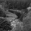 River in B&W