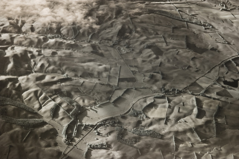 Canterbury Farmland in Infra-red