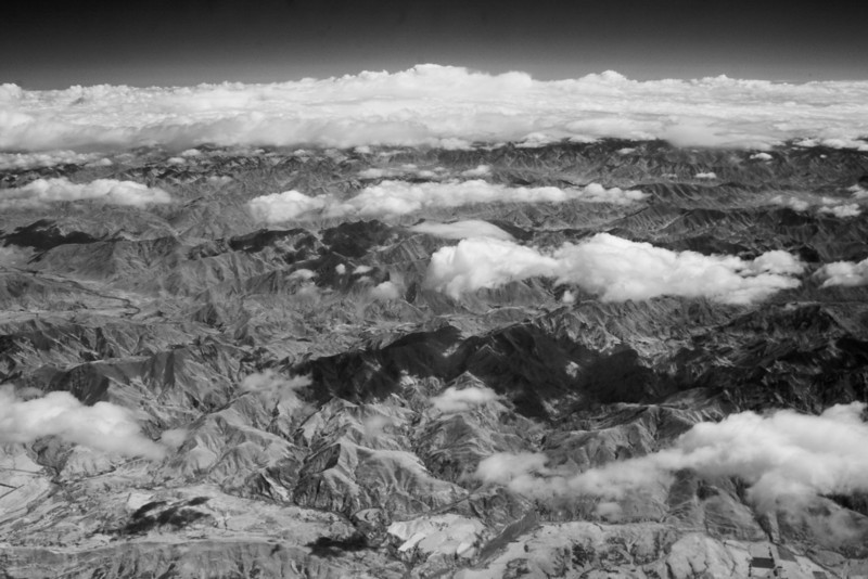 Infra-red shot flying from Christchurch to Wellington