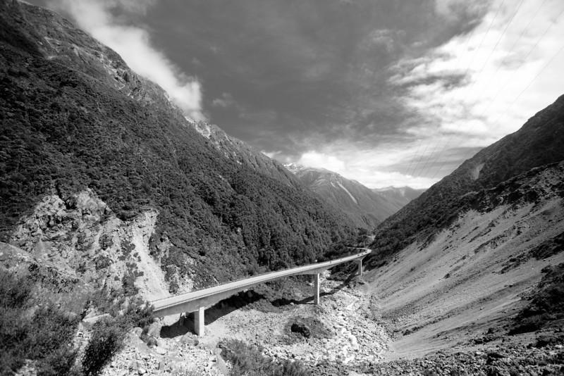 Otira Viaduct.
