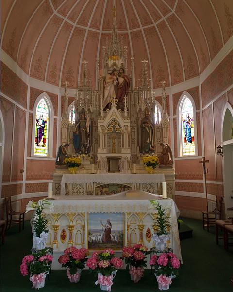 Altar of St  John the Baptist