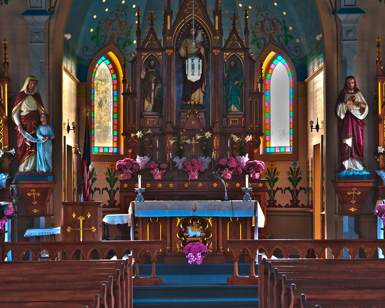 Altar of Sts  C&M Catholic Church