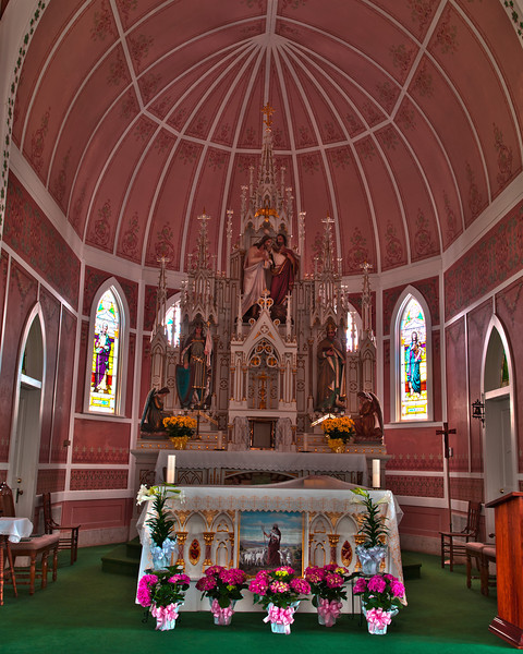 St. John the Baptist Interior