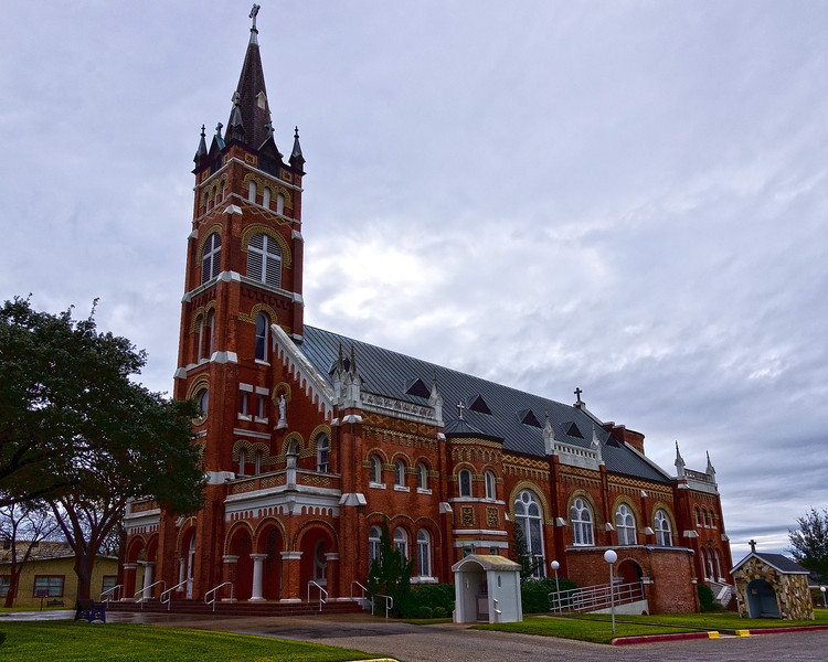 Sts  C&M Church in Shiner